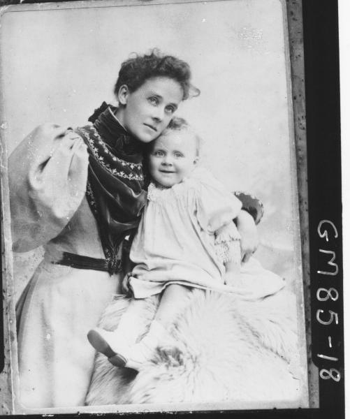 COPY OF PORTRAIT OF WOMAN AND CHILD, MOORE