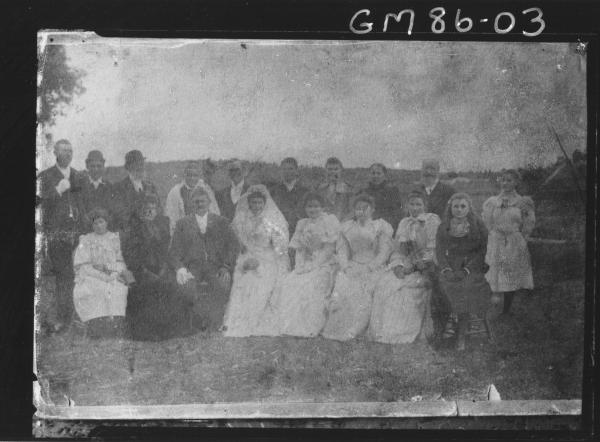 COPY OF LARGE WEDDING GROUP, MILLAR