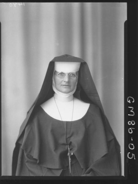 PORTRAIT OF NUN