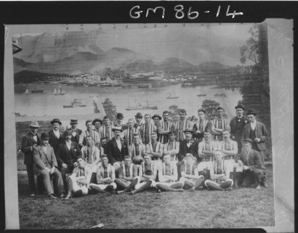 COPY OF FOOTBALL TEAM, COOLGARDIE, SUMPTER