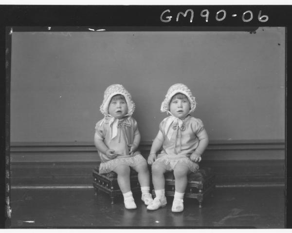 PORTRAIT OF TWO KIDS, 'NELSON'