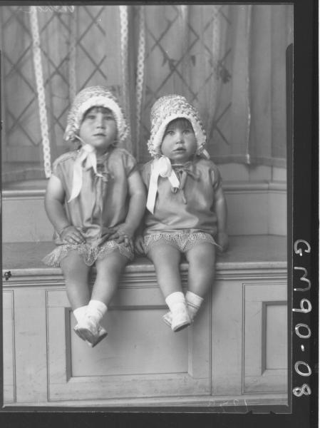 PORTRAIT OF TWO CHILDREN, 'NELSON'