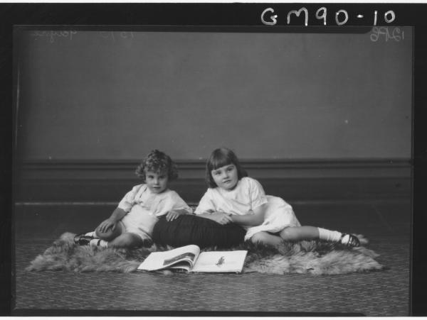 PORTRAIT OF TWO CHILDREN, 'PAYNE'