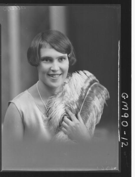 PORTRAIT OF WOMAN, 'ALLSOP'