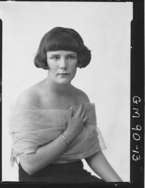 PORTRAIT OF WOMAN, 'PATTERSON'
