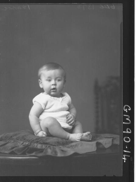 PORTRAIT OF BABY, 'PEARSON'