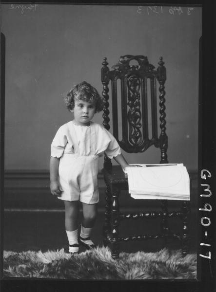 PORTRAIT OF CHILD, 'PAYNE'