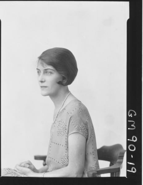 PORTRAIT OF WOMAN, 'NEWMAN'