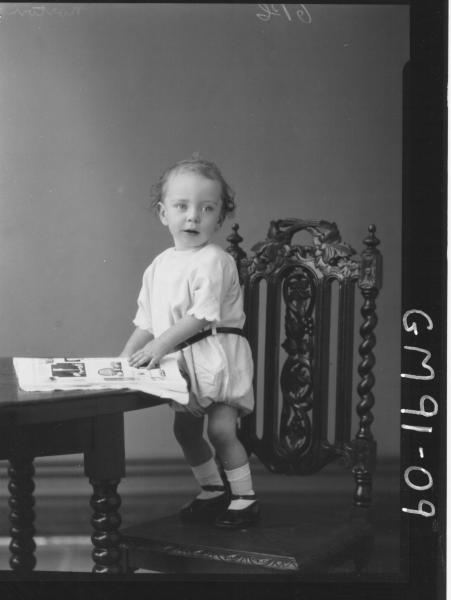 PORTRAIT OF CHILD, 'NORTON'