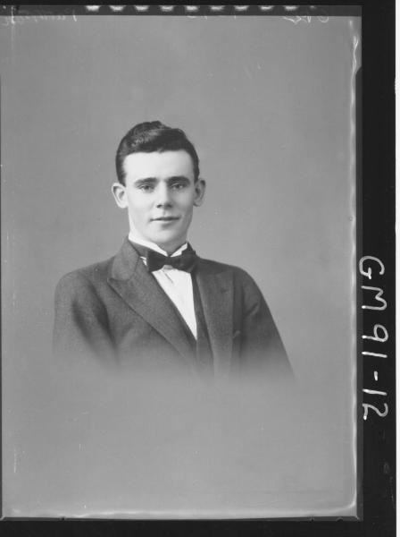 PORTRAIT OF MAN, 'PATTERSON'