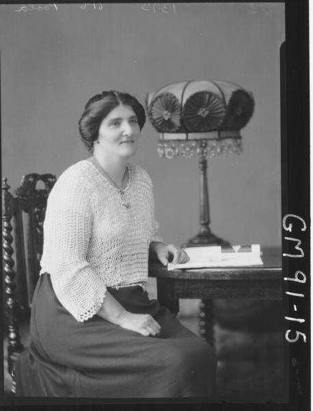 PORTRAIT OF WOMAN, 'POLLA'