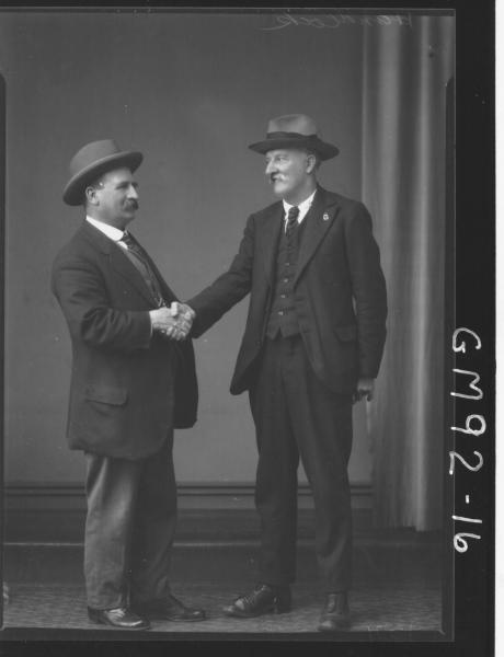 PORTRAIT OF TWO MEN, 'HANCOCK'