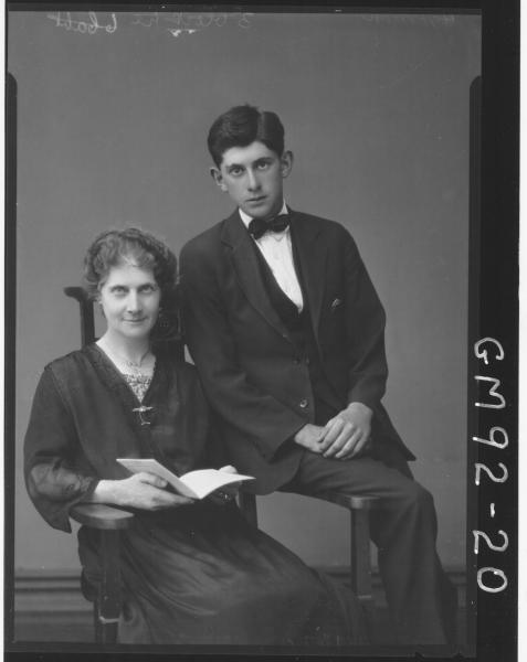 PORTRAIT OF WOMAN AND MAN, 'HOFFMAN'