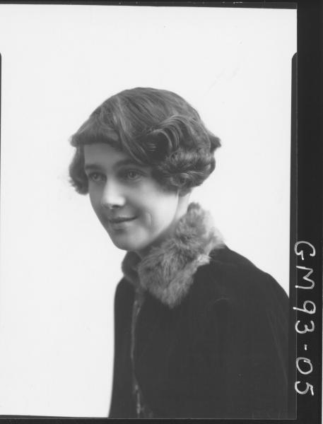 PORTRAIT OF WOMAN, 'BATTEN'