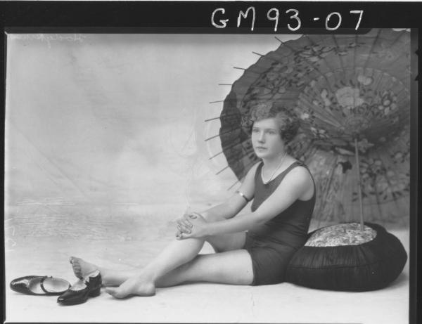 PORTRAIT OF WOMAN BATHERS, 'HODGKINSON'