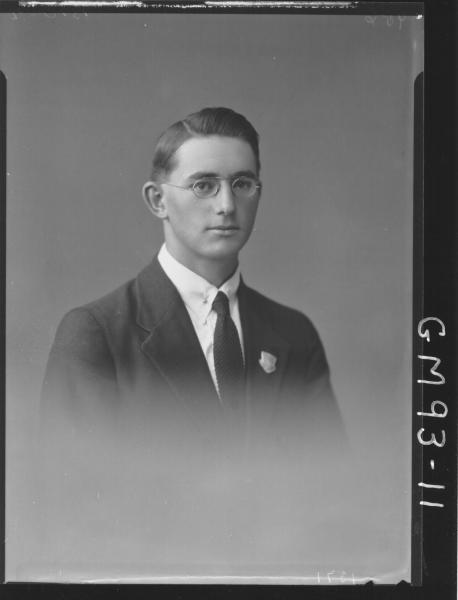 PORTRAIT OF MAN, 'BROWN'