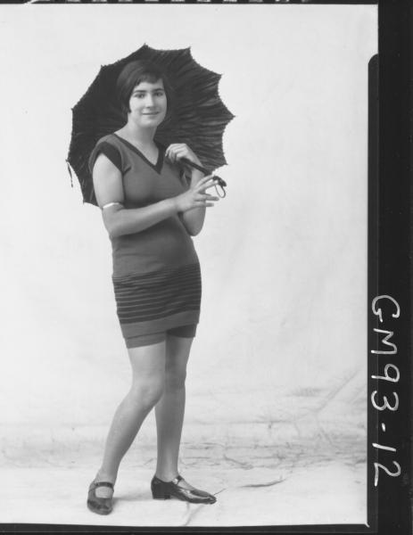 PORTRAIT OF WOMAN BATHERS, 'HUTCHINSON'