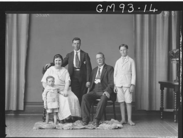 PORTRAIT OF FAMILY, 'HALL'