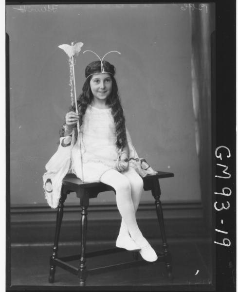 PORTRAIT OF GIRL, 'HEWITT'
