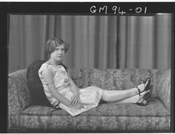 PORTRAIT OF WOMAN, 'HODGKINSON'