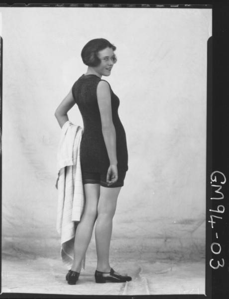 PORTRAIT OF WOMAN BATHERS, 'BOYLAND'