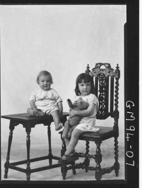 PORTRAIT OF TWO CHILDREN, 'HARRY'