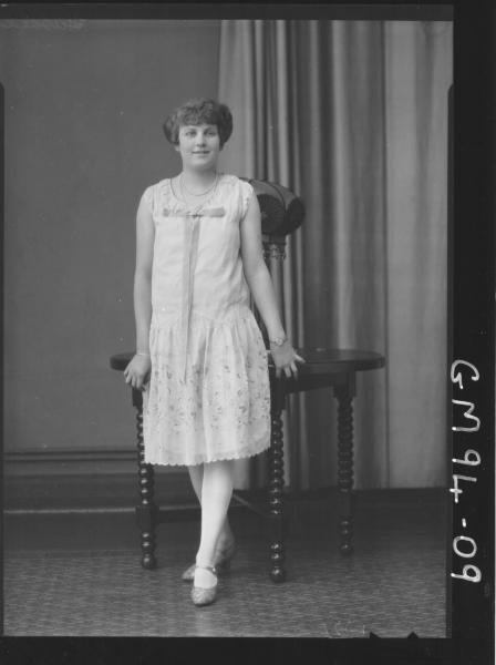 PORTRAIT OF WOMAN, 'HASSELL'