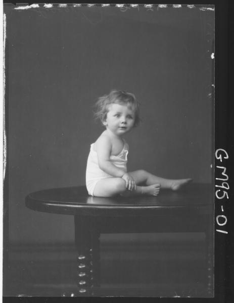 PORTRAIT OF CHILD, 'BOOBYER'