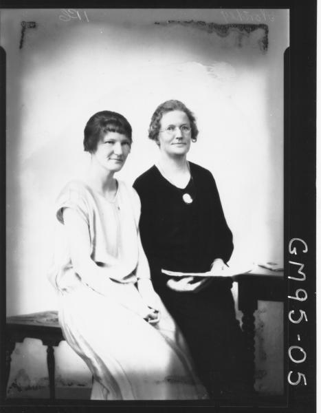 PORTRAIT OF TWO WOMEN, 'NORTHEY'