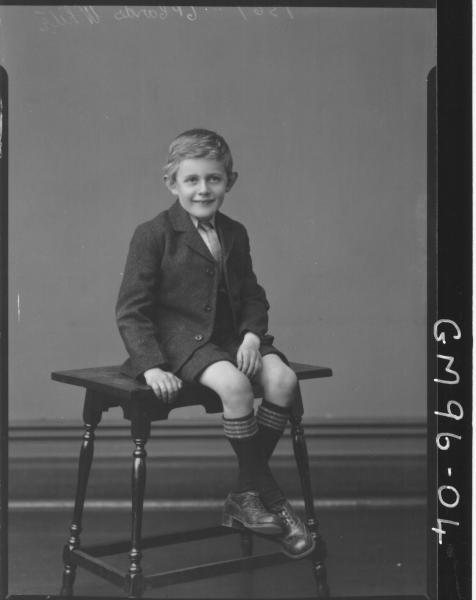 PORTRAIT OF KID, 'WHITE'