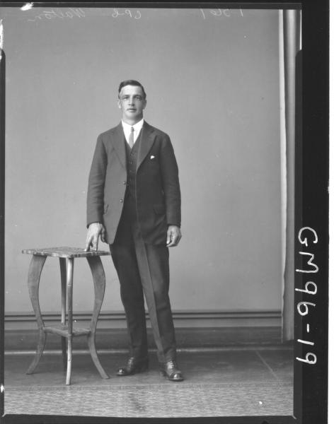 PORTRAIT OF MAN, 'WALTON'