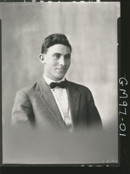 PORTRAIT OF MAN, 'ADAMSON'