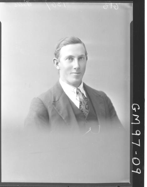 PORTRAIT OF MAN, 'WALLS'