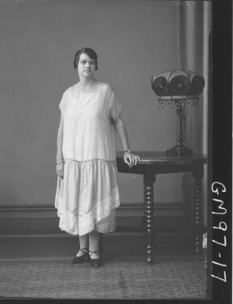 PORTRAIT OF WOMAN, 'ANDERSON'