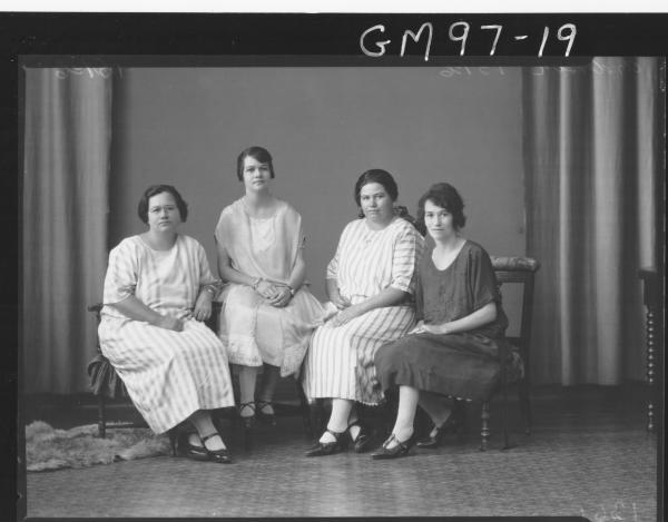 PORTRAIT OF FOUR WOMEN, 'ANDERSON'