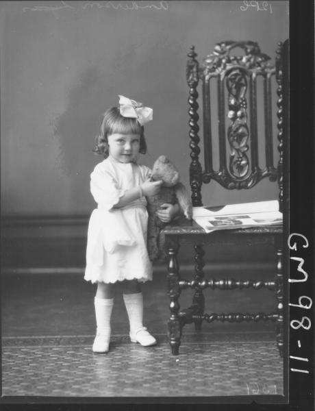 PORTRAIT OF CHILD, 'ANDERSON'