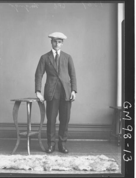 PORTRAIT OF MAN, 'VENGRIGO'