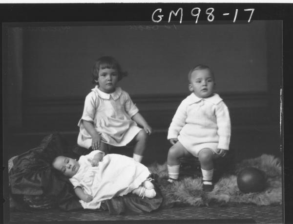 PORTRAIT OF THREE CHILDREN, 'RICHARDSON'