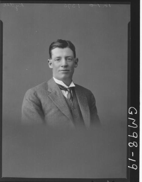 PORTRAIT OF MAN, 'RYDER'