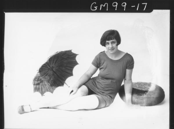 PORTRAIT OF WOMAN BATHERS, 'TURICH'