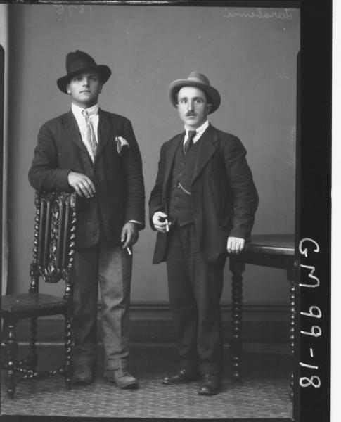 PORTRAIT OF TWO MEN, 'TARABINNI'
