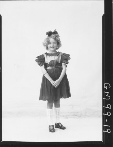 PORTRAIT OF CHILD, 'RIDER'