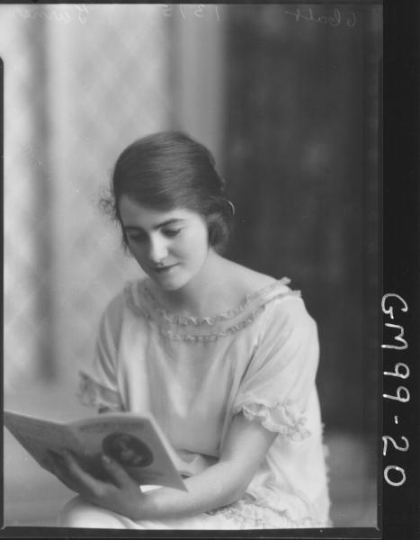 PORTRAIT OF WOMAN, 'TURNER'