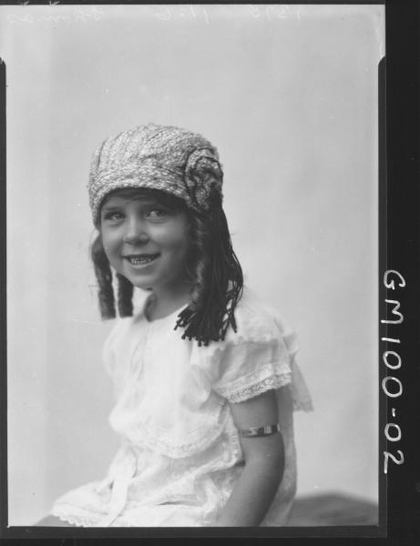 PORTRAIT OF GIRL, THOMAS