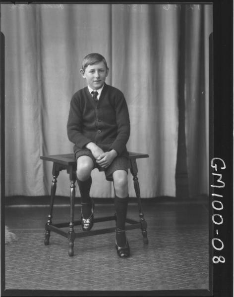 PORTRAIT OF BOY, RICHARDSON