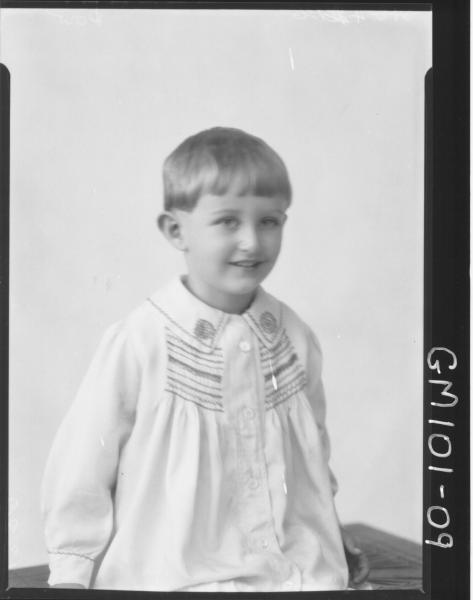 PORTRAIT OF CHILD, DOW