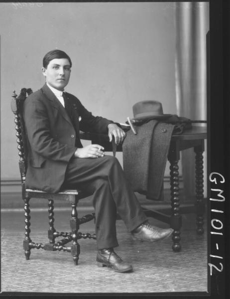 PORTRAIT OF MAN, GRETCH