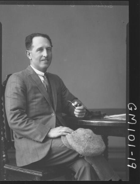 PORTRAIT OF MAN, GILBERT