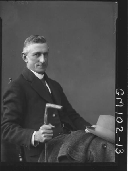 PORTRAIT OF MAN, GEARY