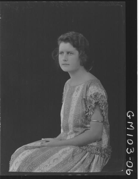 PORTRAIT OF WOMAN, LEGGETT